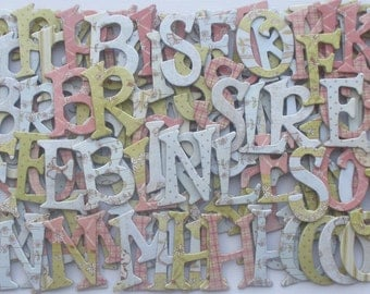 "PRECiOUS BABY - Chipboard Letters Die Cuts -  Beautiful Baby Embellishments Kit - 160 Pieces - 1.5"" inch"