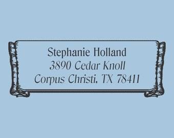 Stephanie Holland Custom Self Inking Stamp Design 200-008