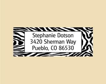 Stephanie Dotson - Custom Return Address - Rubber Stamp - Design R056