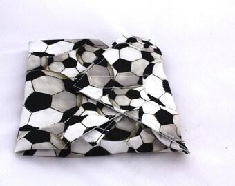 Soccer Reusable Sandwich Wrap