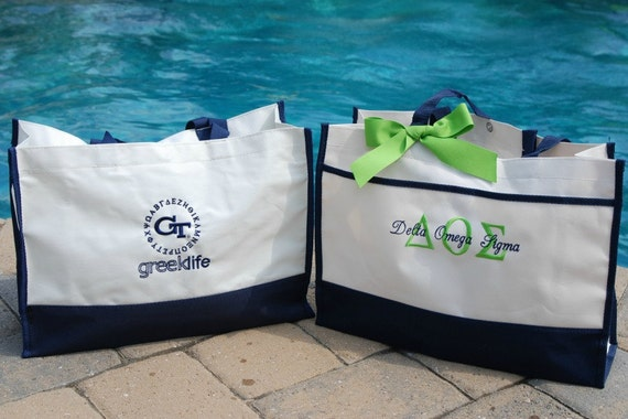 Sorority - Personalized Tote Bag