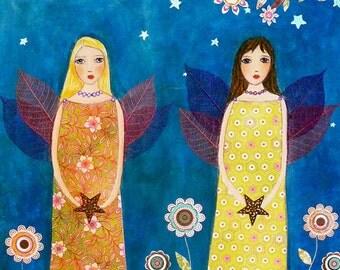Fantasy Fairy Art Print, Large Art Print, Fantasy Print, Fantasy Woman, Fantasy Art Print, Fairytale Art, Fairytale Print, Fantasy Wall Art