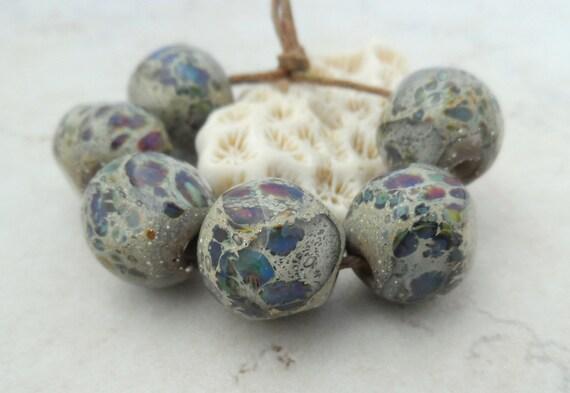 Handmade Lampwork Beads - Organic Glass Beads