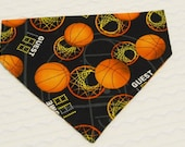 Dog Bandana for Basketball Fans Sizes SMALL to L