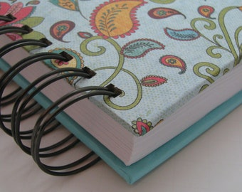 Gratitude Journal/ Daily Gratitude/ Thankful Journal/ Yearly Journal/ Three Years/ Lined Journal/ Grateful/ Line a day/ Turquoise Paisley