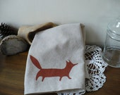Sassy Fox Tea Towel