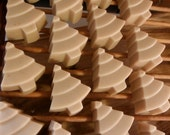 Xmas Tree Homemade Goat Milk Lavender Soap