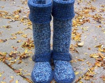Crochet Boots, Custom Made