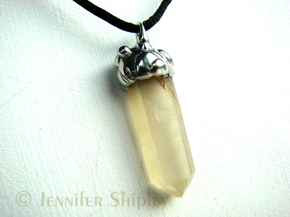Golden Healer Pendant Available at https://www.etsy.com/listing/113293632/golden-healer-crystal-pendant-raw-yellow