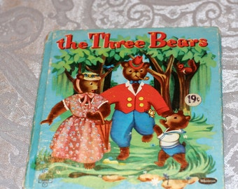 Little Golden Book The Three Bears Whitman Tell-A-Tale Book