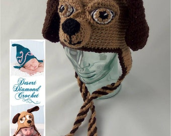 Crochet Hat With Dog Ears Only New Crochet Patterns