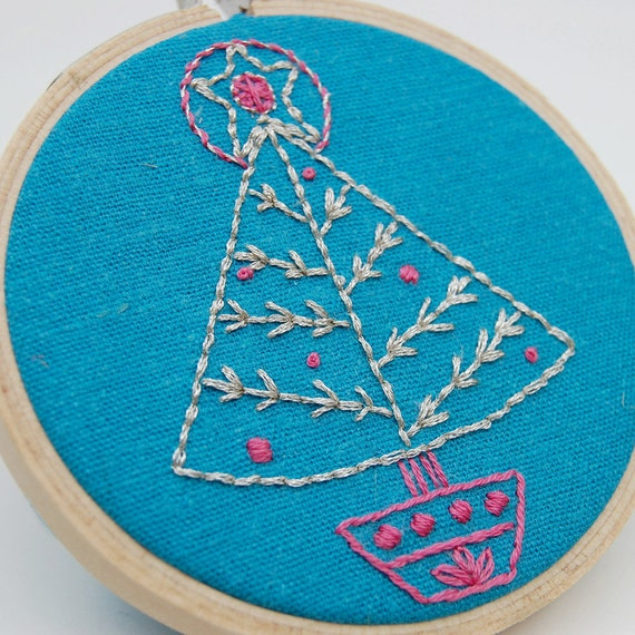 Holiday Hand Embroidery Patterns SEASON'S STITCHINGS Christmas patterns from SeptemberHouse. DIY Holiday, Digital Download