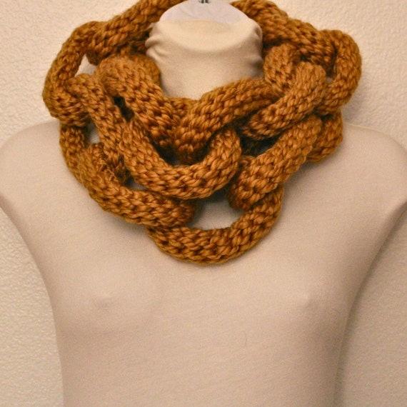 Free Crochet Pattern Chain Link Scarf Dancox For