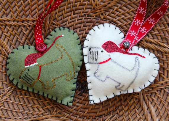 Scottish Terrier Christmas Tree Ornament Set of by ...