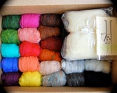 Super Duper Needle Felting Kit - Starter Kit - Make your own Felt crafts