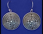 ABINGDON LABYRINTH- Sterling Silver- Earrings