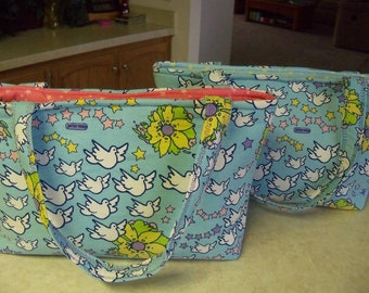 Peter Max Diaper Bag..Pink OR Blue