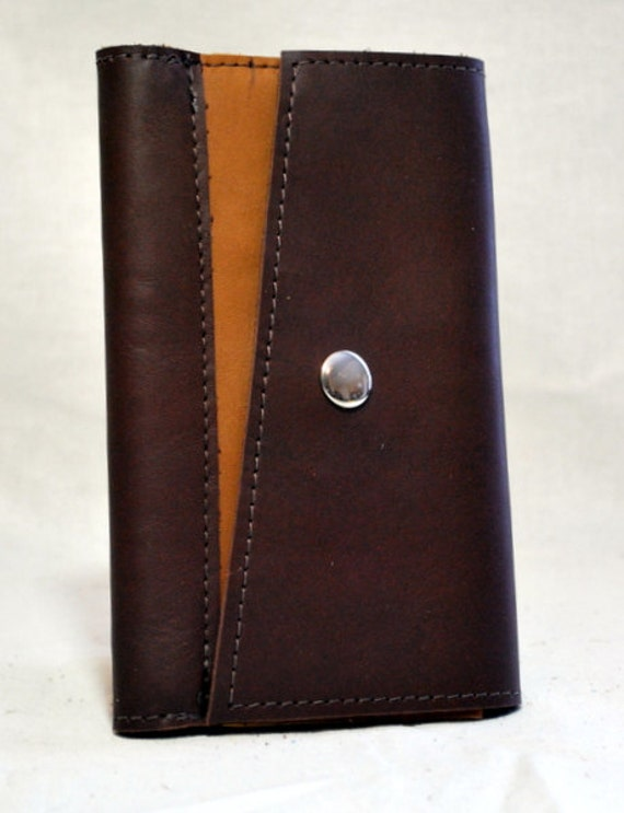 2013 Dark Brown Leather Planner- Refillable
