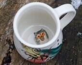 Owl Animal Mug by Bunny Safari