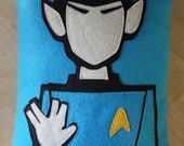 Star Trek Spock Felt Pillow