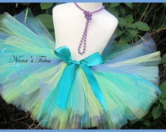 Teal Mist,Party Tutu,Birthday, Photo Shoots, Gift, All Occassion  Sizes to 6yrs