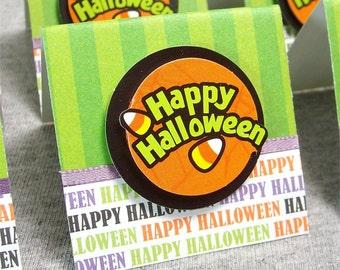 Happy Halloween Mini Cards 2x2 (6)