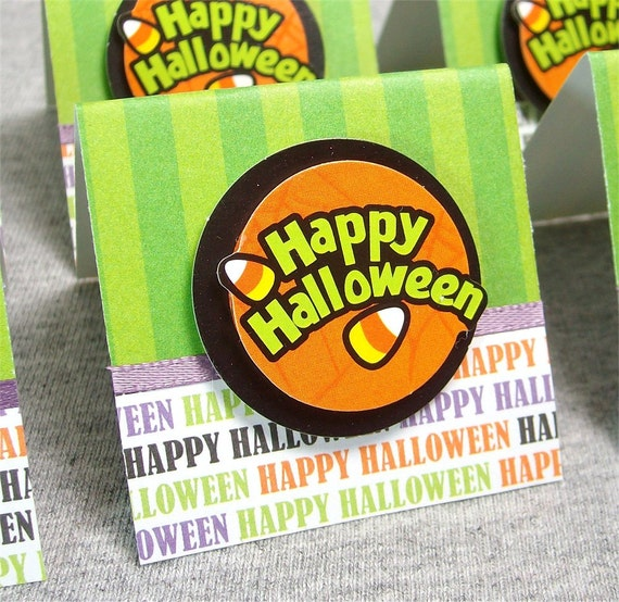 Happy Halloween Mini Cards 2x2 (6)