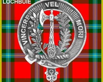 Mac Laine Clan Crest Scottish Cap Badge CB02