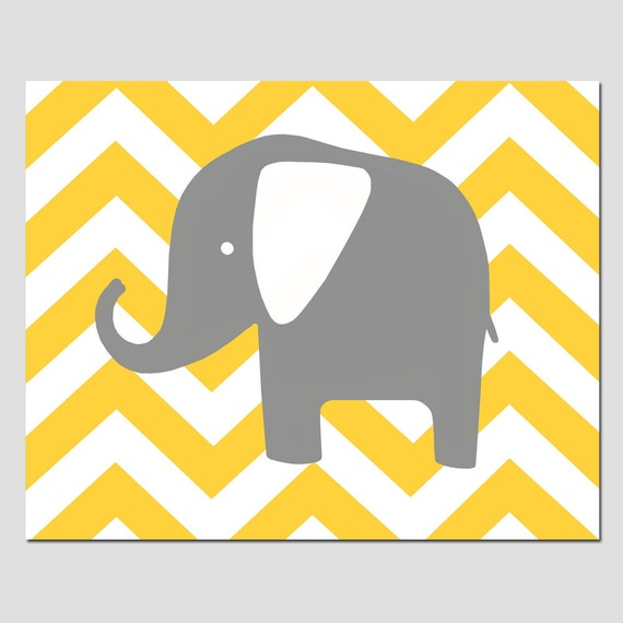 modern elephant silhouette