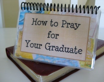 How to Pray for Your Graduate, Laminated Bible Verse Cards, Sprial-Bound