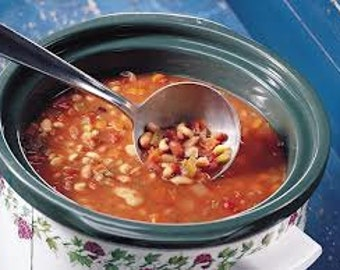 Hearty Bean Soup Mix, Dried Mixes, Dried beans, Dried Seasoning Mix, Dried Herbs, Dried Spices, Salt Free Dried beans