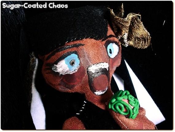 Zombie girl rag doll