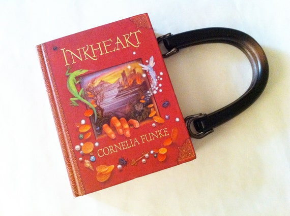Inkheart Book Purse - Preorder