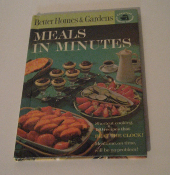 Vintage cookbook better homes and gardens meals by Better homes amp gardens recipes