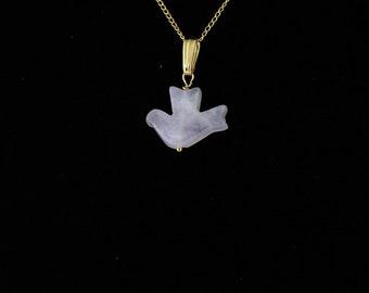 Rose Quartz Bird Pendant. Listing 109322518