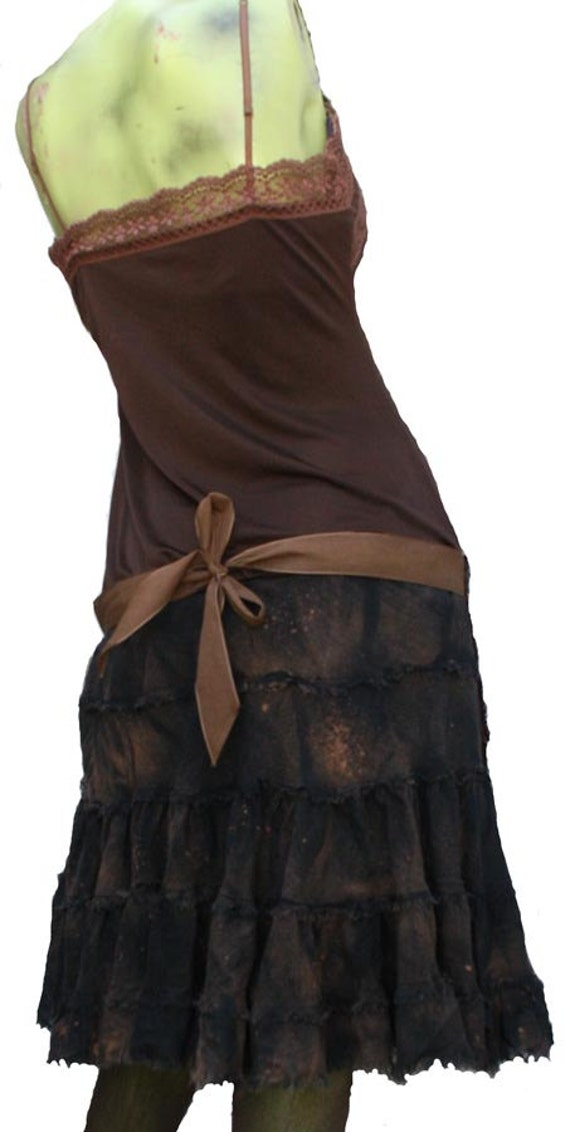 Svelga The Housekeep Post Apocalyptic Dress Rattered and Tattered