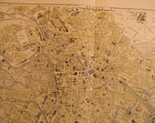 1903 City Map Berlin Germany - Vintage Antique Map Great for Framing 100 Years Old
