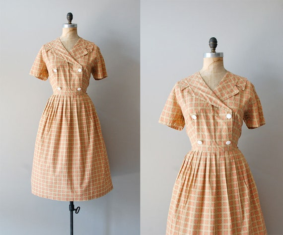 S A L E .... 1950s dress / 50s dress / Summer Snowflake