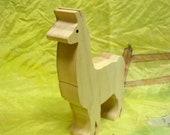 wooden Llama toy