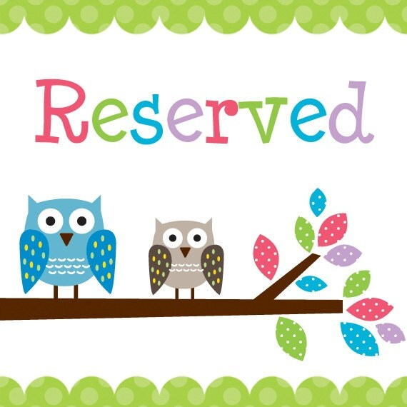 Reserved listing for noraada