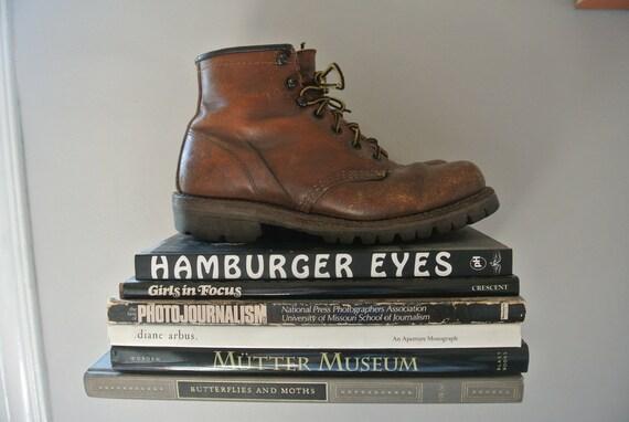 Vintage Brown Hiking/Work Boots US 7