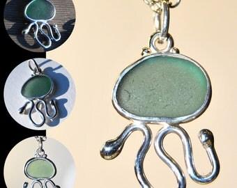 Sea Glass Critter Pendant