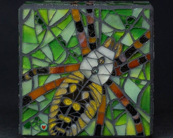Lili - Spider Mosaic Wall Hanging