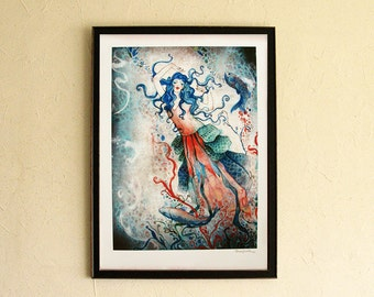Limited Edition Print - Nymph of the Lake 5/10