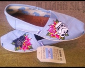 STAR WARS or Any Theme Shoes - Simple and Cute - Shoes included - TOMs 0R VANs