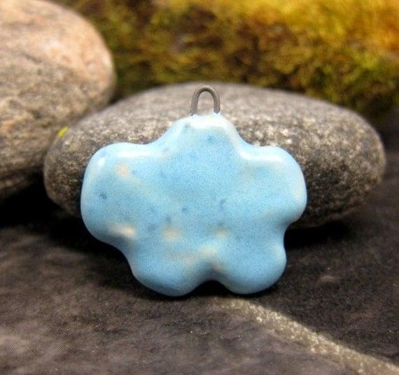 TURQUOISE...Miniature Cloud Pendant