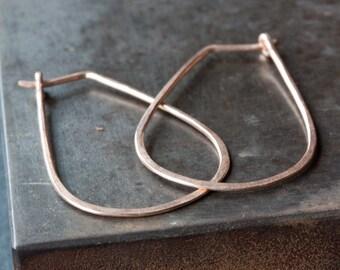 Small Horseshoe Hoop Earrings