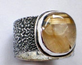 Rutilated Quartz Power Ring