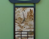 Japanese-style Wall Clock Large