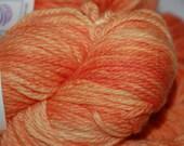 Studio June Yarn MCN Aran - Cashmere, Superwash Merino, Nylon, Color:  Light Tangerine